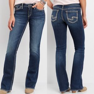 Silver Jeans • Blue Tuesday Bootcut Jeans • Sz 27